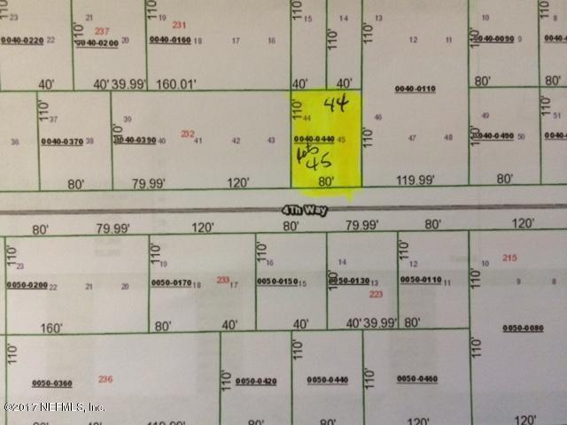 00 4TH WAY, INTERLACHEN, FLORIDA 32148, ,Vacant land,For sale,4TH WAY,898311
