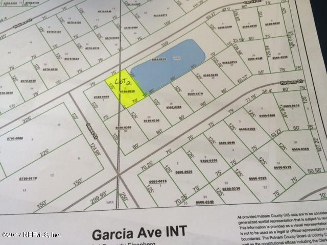 00 GARCIA, INTERLACHEN, FLORIDA 32148, ,Vacant land,For sale,GARCIA,898630