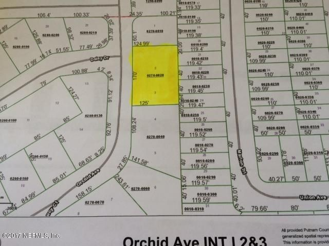 00 ORCHID, INTERLACHEN, FLORIDA 32148, ,Vacant land,For sale,ORCHID,898515