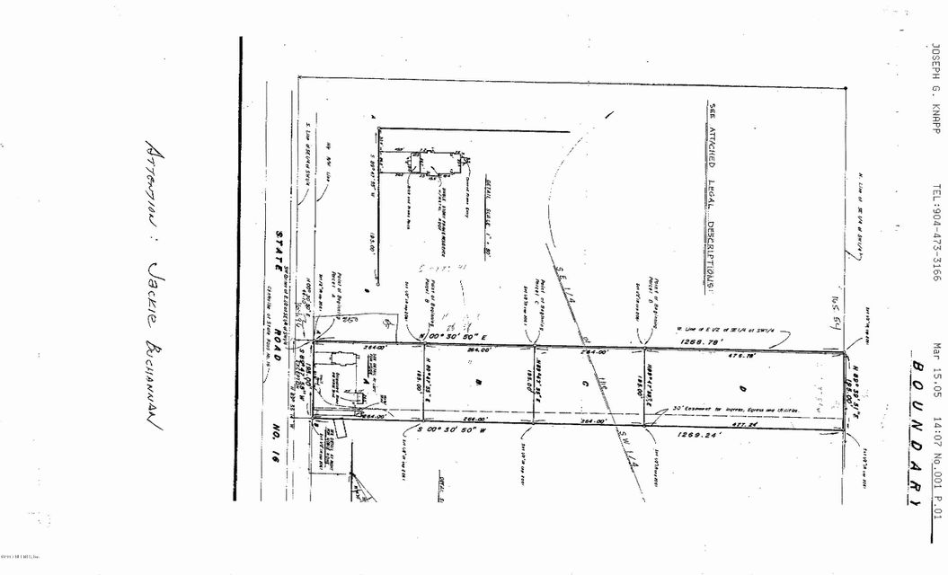 0 STATE ROAD 16, GREEN COVE SPRINGS, FLORIDA 32043, ,Vacant land,For sale,STATE ROAD 16,905363
