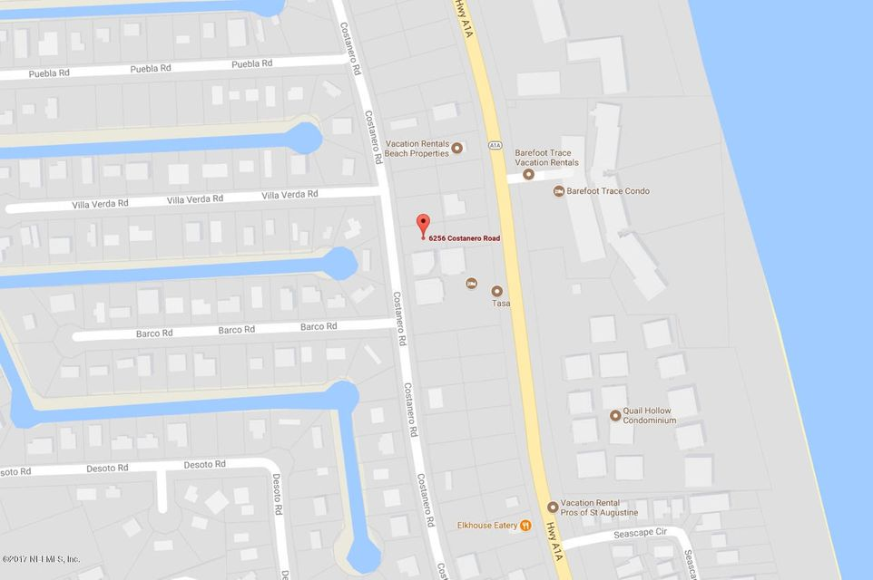6256 COSTANERO, ST AUGUSTINE, FLORIDA 32080, ,Vacant land,For sale,COSTANERO,908473