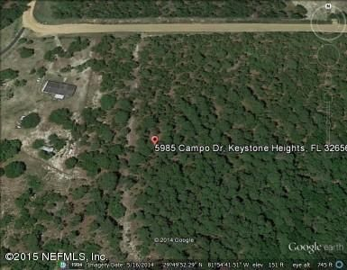 5985 CAMPO, KEYSTONE HEIGHTS, FLORIDA 32656, ,Vacant land,For sale,CAMPO,911321