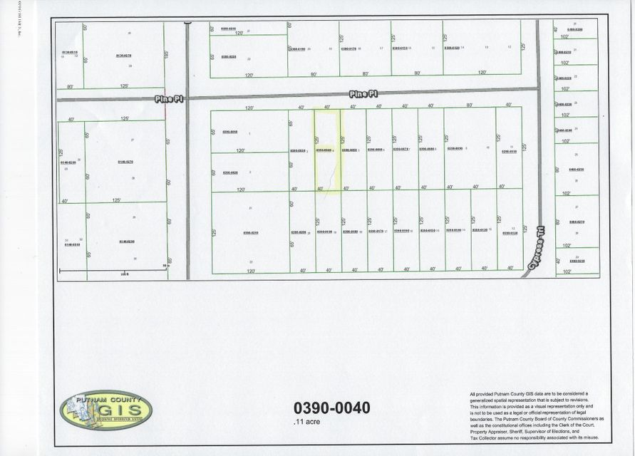 PINE, INTERLACHEN, FLORIDA 32148, ,Vacant land,For sale,PINE,914108