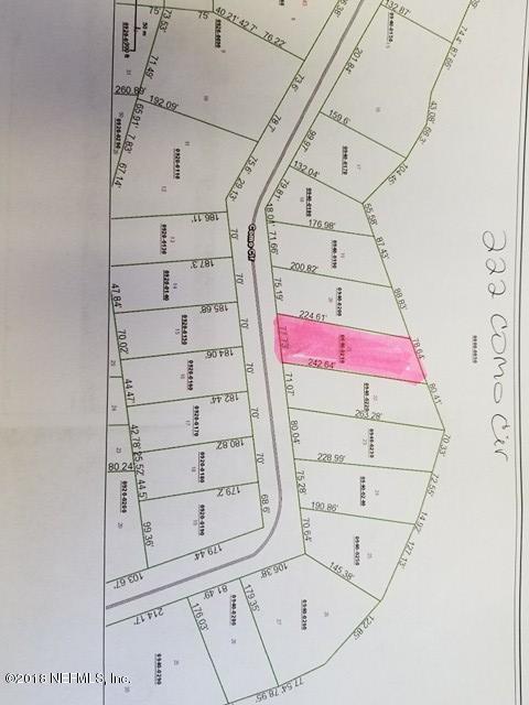 222 COMO, INTERLACHEN, FLORIDA 32148, ,Vacant land,For sale,COMO,916139