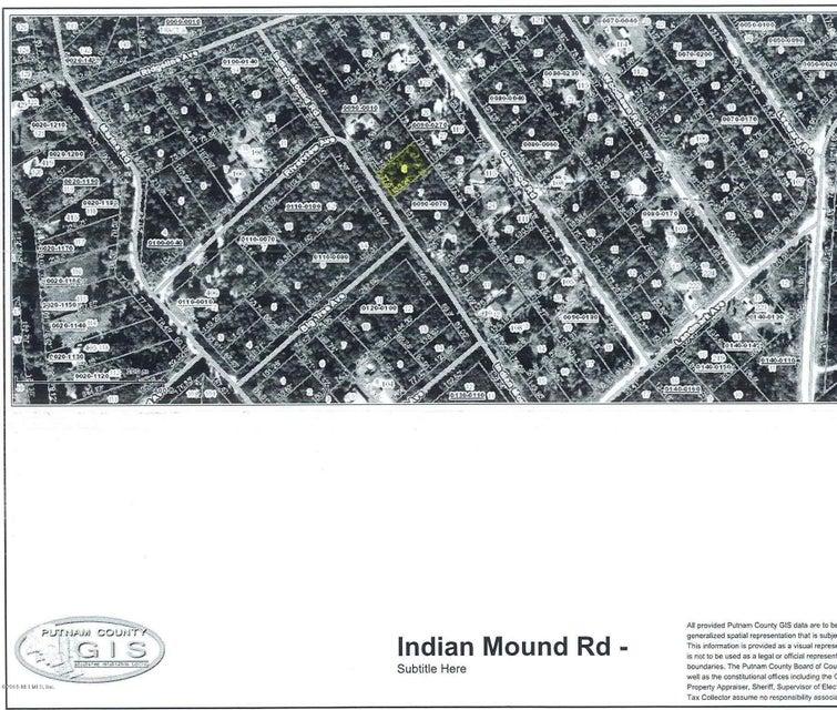 124 INDIAN MOUND, SATSUMA, FLORIDA 32189, ,Vacant land,For sale,INDIAN MOUND,916743