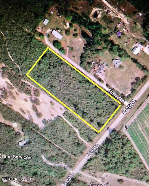 284 COUNTY ROAD 207A, EAST PALATKA, FLORIDA 32131, ,Vacant land,For sale,COUNTY ROAD 207A,918294