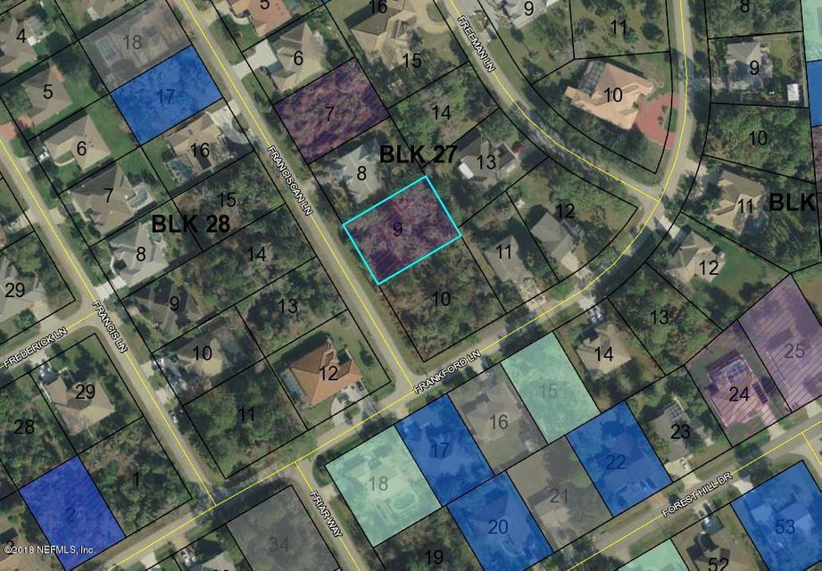 85 FRANCISCAN, PALM COAST, FLORIDA 32137, ,Vacant land,For sale,FRANCISCAN,927293