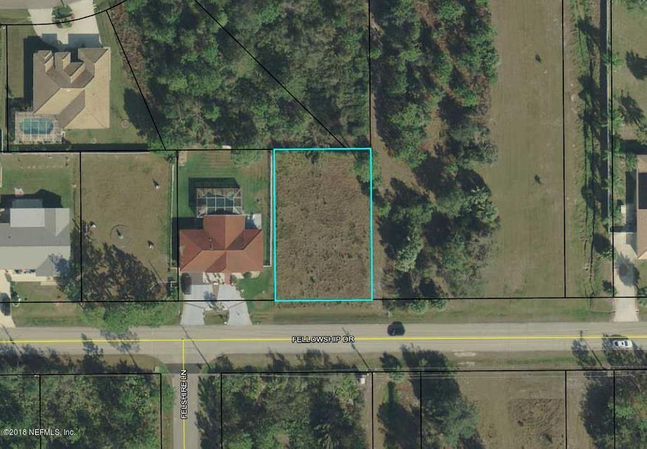 41 FELLOWSHIP, PALM COAST, FLORIDA 32137, ,Vacant land,For sale,FELLOWSHIP,927302