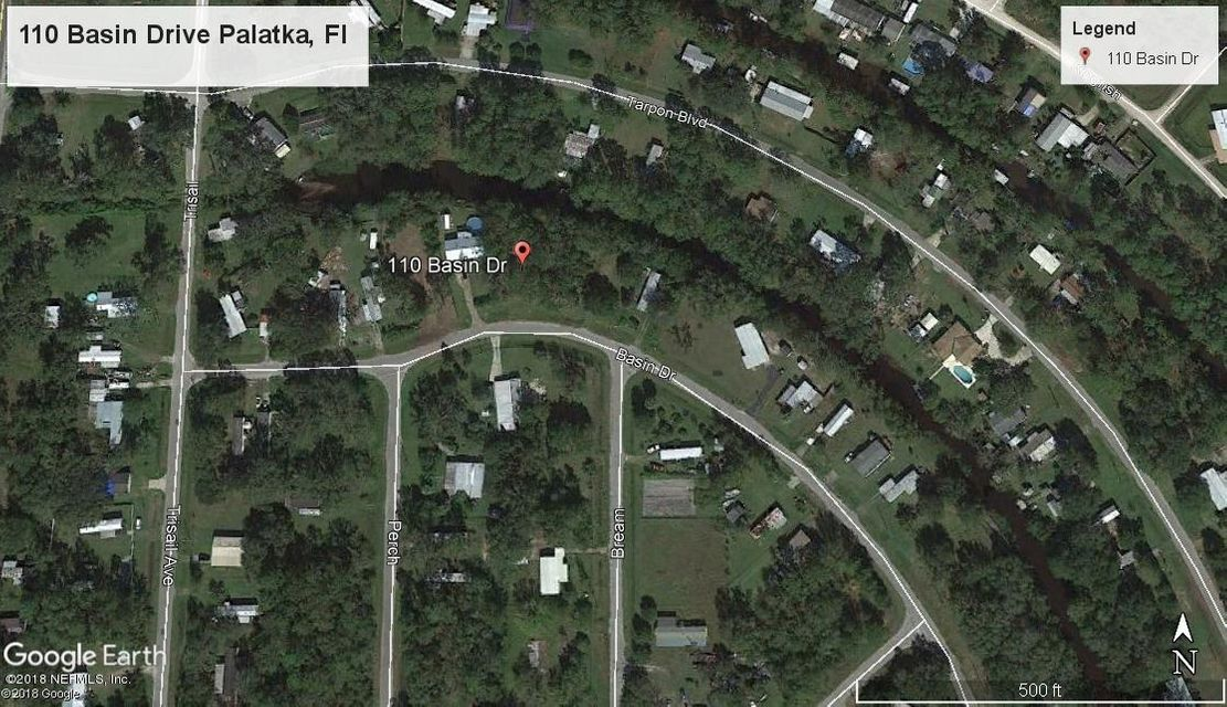 110 BASIN, PALATKA, FLORIDA 32177, ,Vacant land,For sale,BASIN,934288