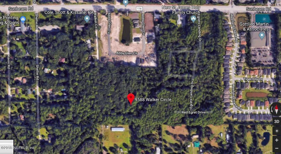 9588 WALKER, JACKSONVILLE, FLORIDA 32257, ,Vacant land,For sale,WALKER,933281