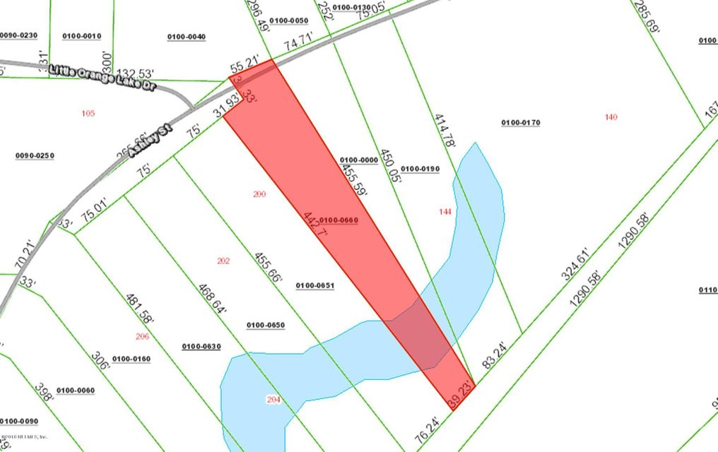 000 ASHLEY, HAWTHORNE, FLORIDA 32640, ,Vacant land,For sale,ASHLEY,935917