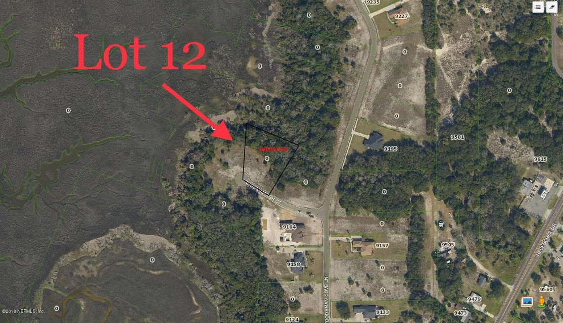 HIDDEN MARSH LOT 12, JACKSONVILLE, FLORIDA 32226, ,Vacant land,For sale,HIDDEN MARSH LOT 12,936078