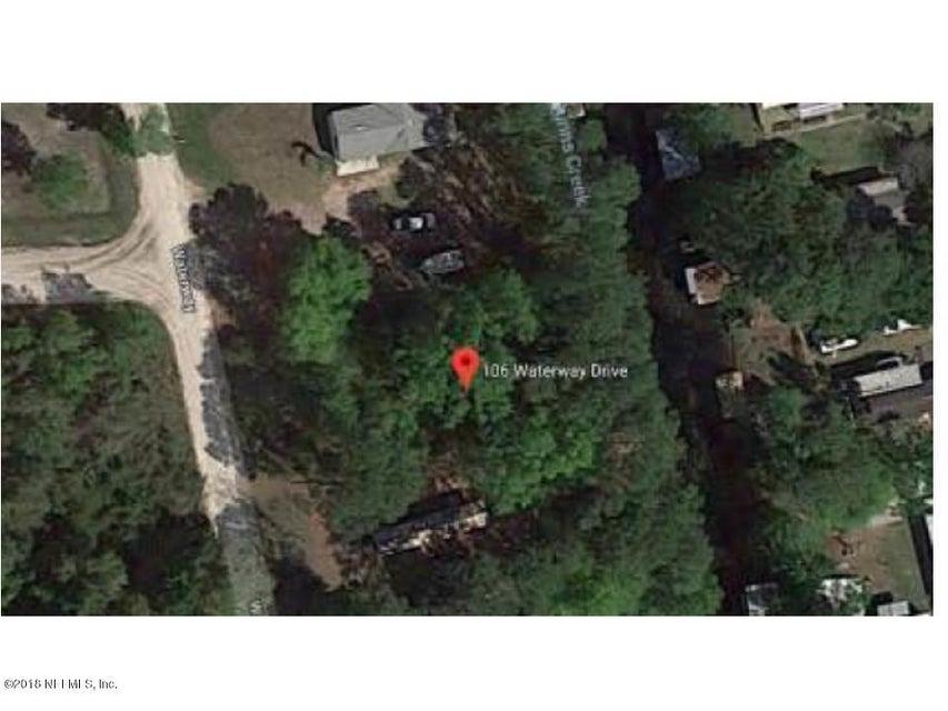 106 WATERWAY, SATSUMA, FLORIDA 32189, ,Vacant land,For sale,WATERWAY,936140