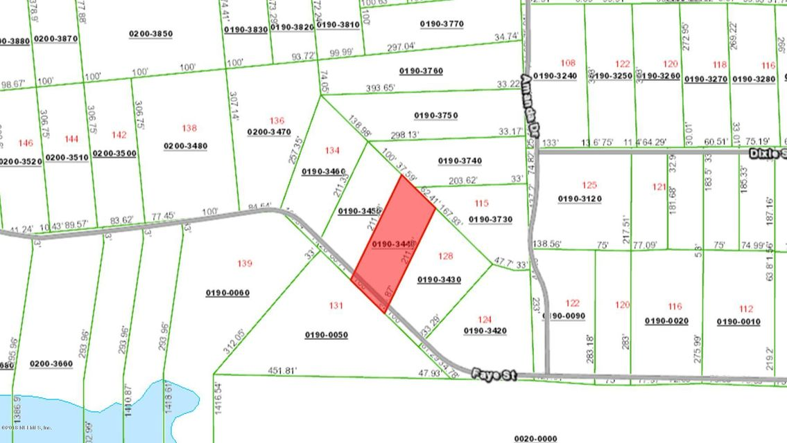 000 FAYE- HAWTHORNE- FLORIDA 32640, ,Vacant land,For sale,FAYE,936522