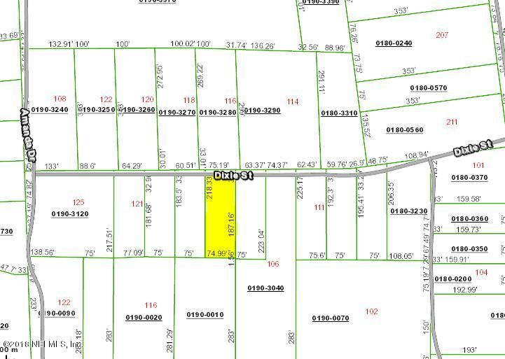 000 DIXIE- HAWTHORNE- FLORIDA 32640, ,Vacant land,For sale,DIXIE,936581