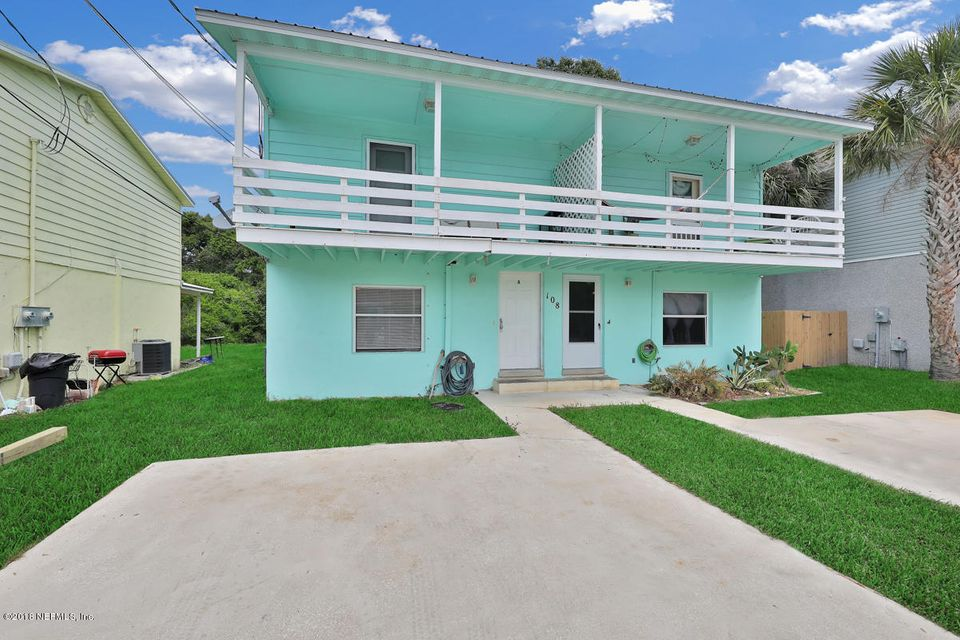 108 E- ST AUGUSTINE- FLORIDA 32080, 4 Bedrooms Bedrooms, ,2 BathroomsBathrooms,Multi family,For sale,E,937058