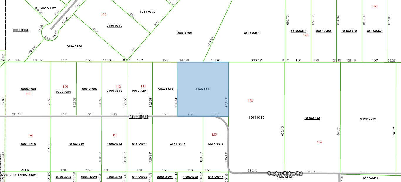 120 MC CALL- HAWTHORNE- FLORIDA 32640, ,Vacant land,For sale,MC CALL,938690