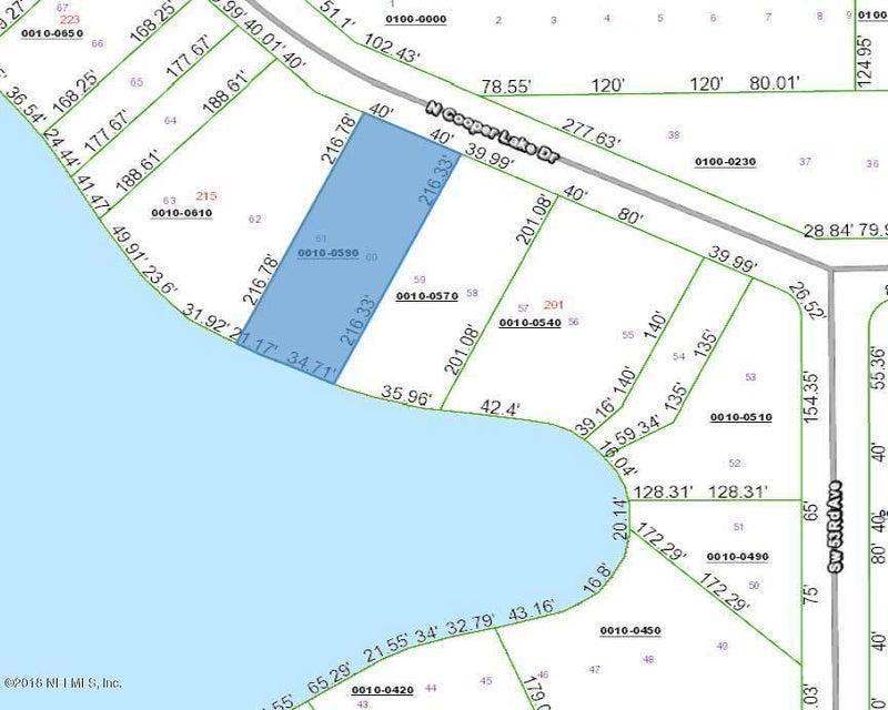 COOPER LAKE, INTERLACHEN, FLORIDA 32148, ,Vacant land,For sale,COOPER LAKE,942301