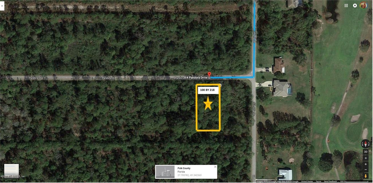 314 PANDORA- LAKE WALES- FLORIDA 33898, ,Vacant land,For sale,PANDORA,942532