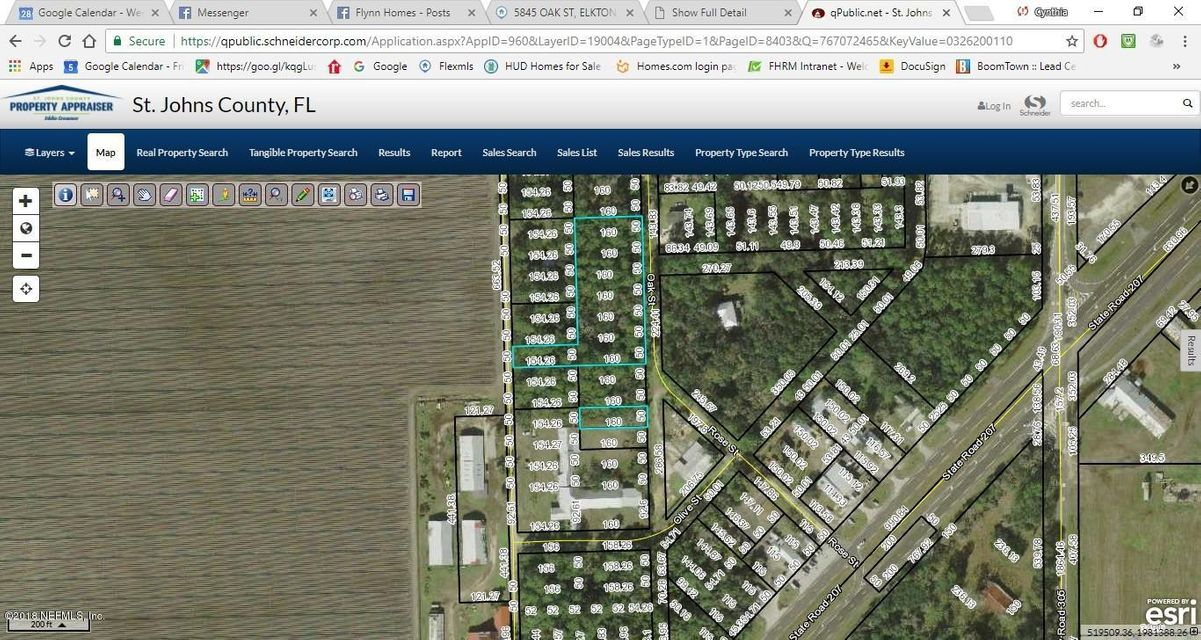 5845 OAK, ELKTON, FLORIDA 32033, ,Vacant land,For sale,OAK,944441