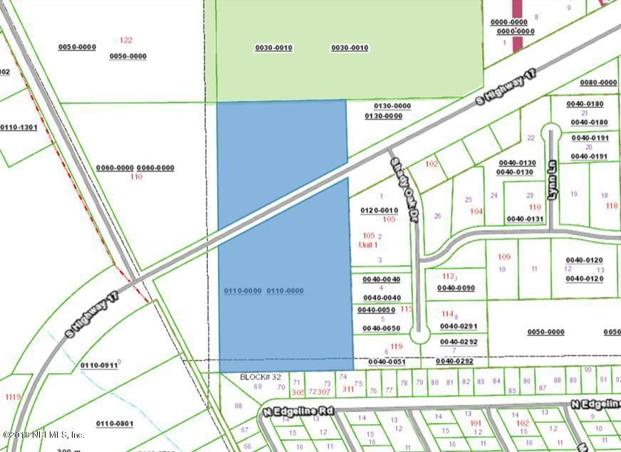 000 HIGHWAY 17, SATSUMA, FLORIDA 32189, ,Vacant land,For sale,HIGHWAY 17,948011