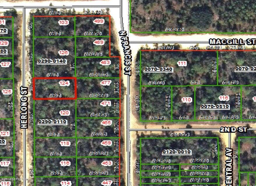 124 HERLONG, INTERLACHEN, FLORIDA 32148, ,Vacant land,For sale,HERLONG,948330
