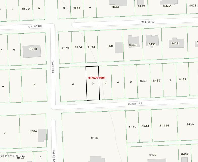 0 HEWITT, JACKSONVILLE, FLORIDA 32244, ,Vacant land,For sale,HEWITT,951987