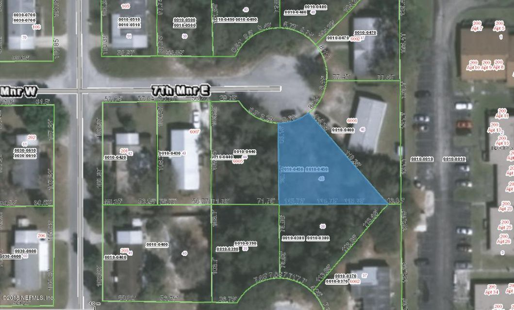 6003 7TH, PALATKA, FLORIDA 32177, ,Vacant land,For sale,7TH,953231
