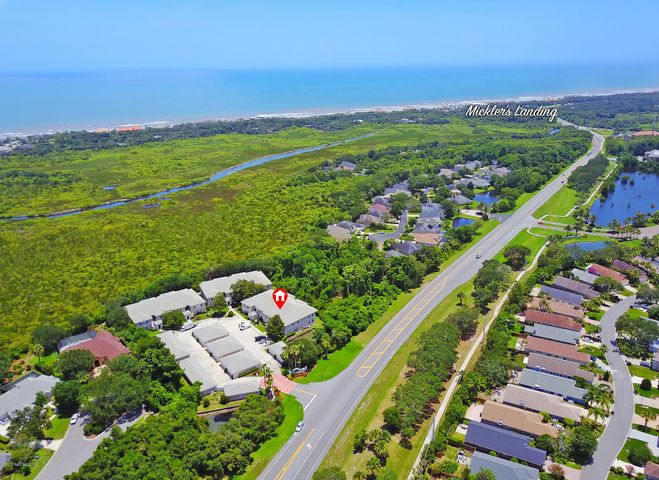 East of A 1 A, less than 1 mile to the beach access