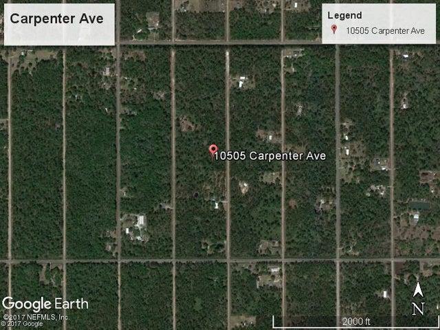 10505 CARPENTER AVE, HASTINGS, FL 32145