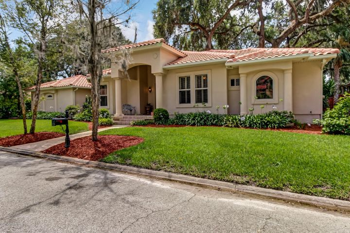 Just 2 homes from the St. Johns River in a gated community