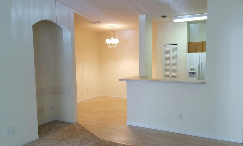 Dining Area and Kitchen from Living Area