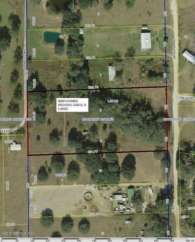 0 SW 111TH AVE, BROOKER, FL 32622