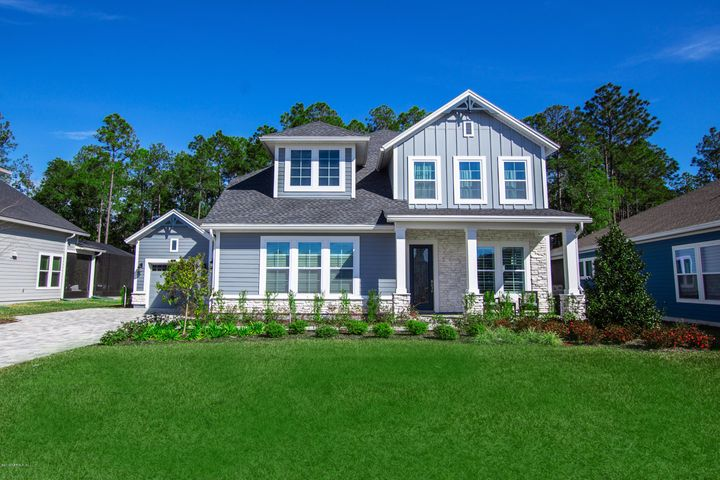 This stunning home is situated on an oversized preserve lot in the desirable community of Nocatee