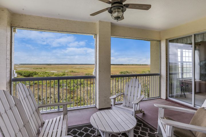 Unlimited View from your balcony of the ICW and conservation preserve