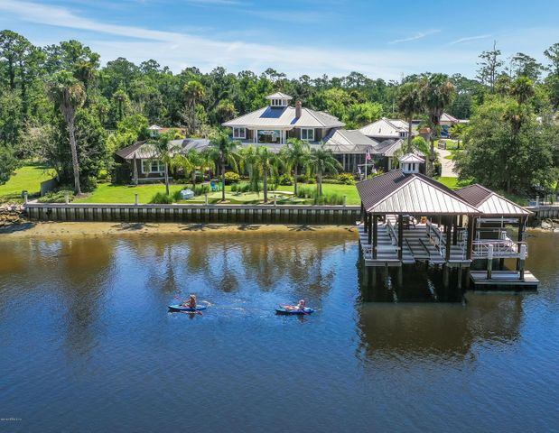 On the Intracoastal Waterway in Ponte Vedra Beach, Florida.