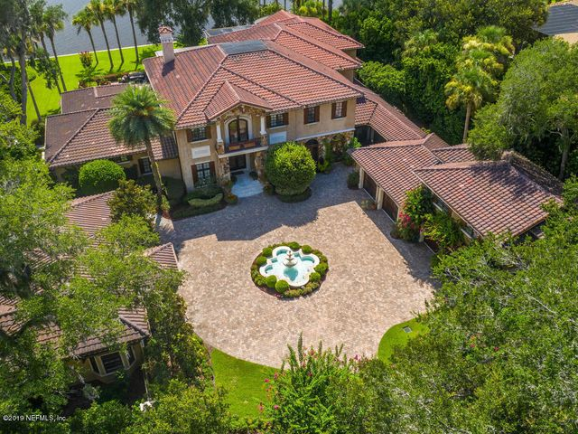 Gorgeous estate on the water.