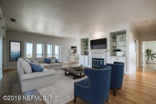 Unit 411 Living Room with Ocean Views