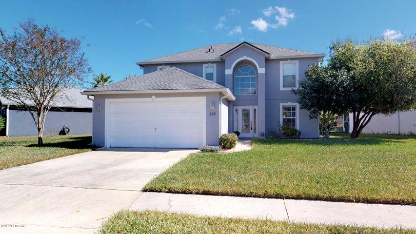 119 REEDING RIDGE DR W, JACKSONVILLE, FL 32225