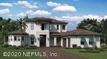 One of the available exterior elevations for the Marina floor plan.
