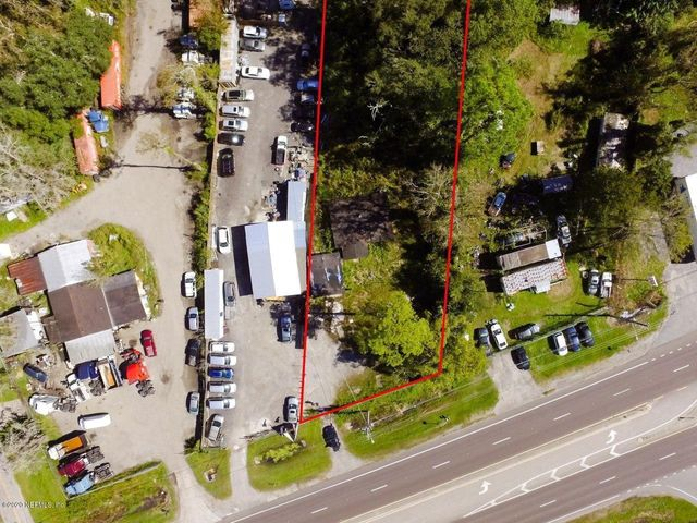 NOT survey. Red lines to provide visual of lot.