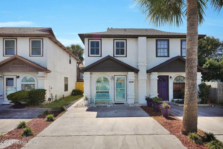 2026 2ND ST S, JACKSONVILLE BEACH, FL 32250