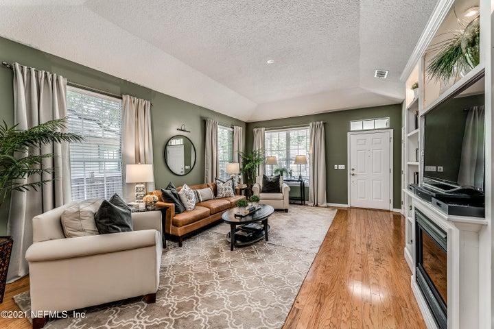 Rich hardwood floors