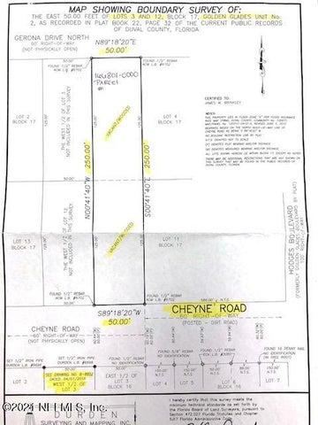 0 CHEYNE RD, JACKSONVILLE, FL 32246