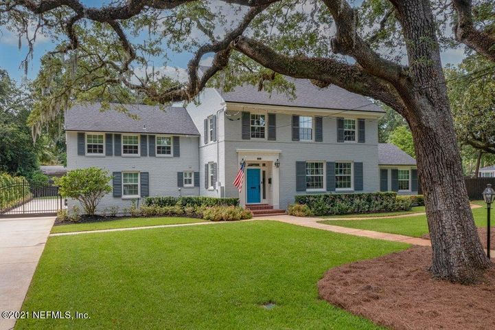 This fully renovated traditional classic has spectacular curb appeal