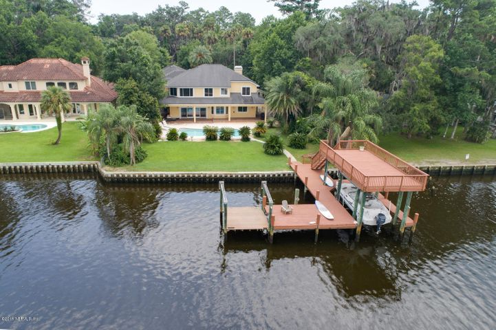 Fabulous two story dock
