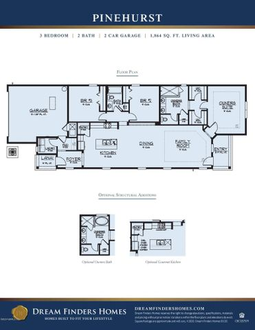 Pinehurst floorplan