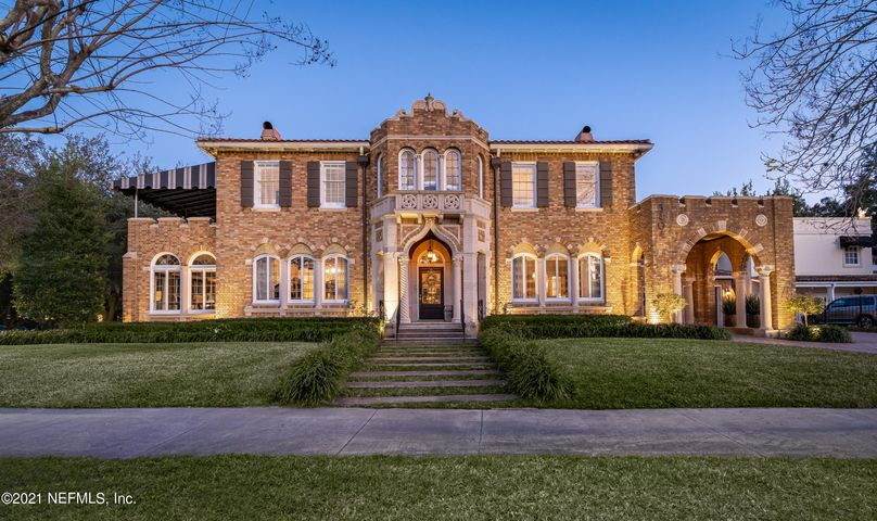 Welcome home to one of Avondale's most beautiful architectural wonders!  The grandeur of yesterday merges with all the modern comforts of today.  Lovingly and expertly restored by its current owners, no detail was overlooked in this stunning property that offers nearly 5,300 sq feet of heated and cooled luxury living with additional covered patios and loggias.  Only in person can you experience the level of detail that went into restoring every aspect of the home from the original leaded glass windows to retucking the rare caramel brick and ornamental stone work.  To top it off, you can walk one block to dining and shopping only to return home and jump in the pool or jacuzzi in the luxuriously appointed entertainers dream of a back yard.  A true must see for the most discerning of buyers.