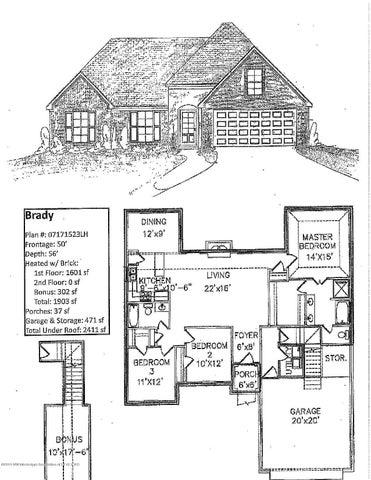 2607 N Dawnwood Circle, Southaven, MS 38672