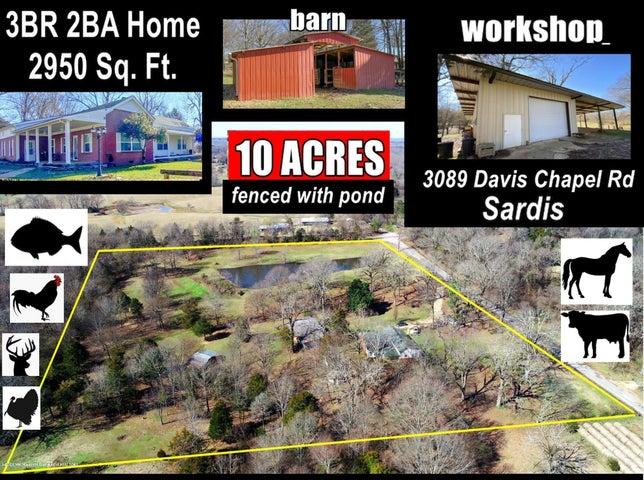 3089 Davis Chapel Road, Sardis, MS 38666